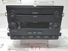2005 - 2009 Ford Fusion, Mercury Milan TESTED  6 CD MP3 Player Radio OEM   R17