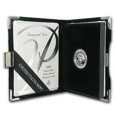 1997-W 1/10 oz Proof Platinum American Eagle Coin - (W/Box & CoA) - SKU #10420