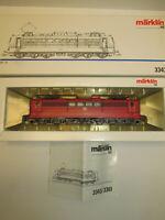 Märklin 3343 Spur H0 Elektrolokomotive der DB mit BN 151 021-3 OVP