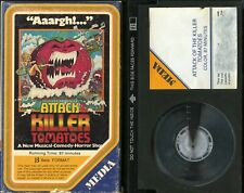 ATTACK OF THE KILLER TOMATOES BETA SHARON TAYLOR  MEDIA SLIPCASE VIDEO TESTED