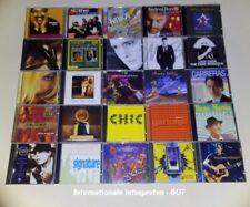 Musik-CD-Sammlung Nr.8 - 168 Stück - Internationale- und Deutsche Alben