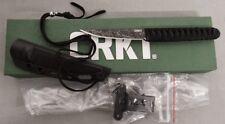 COLUMBIA RIVER KNIFE 2367 BURNLEY OBAKE CRKT FIXED BLADE LUCAS BURNLEY DESIGN!!!