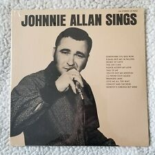 SEALED JOHNNIE ALLAN SINGS LP JIN & SWALLOW RECORD CO. LP-9002