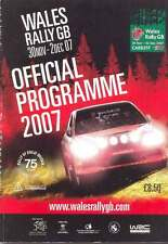 Wales Rally Gb 30 November -2 December 2007 Group of 4 Publications & Other