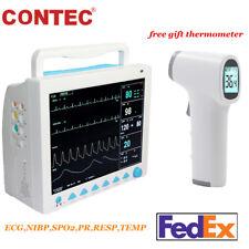 Vital Signs Patient Monitor Icu Multi Parameter Ccu Portable Machine Usa Fedex