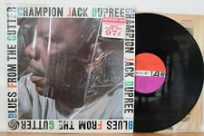 "Champion Jack Dupree LP ""Blues From The Gutter"" Atlantic 8019 ~ CLEAN ~ MONO"