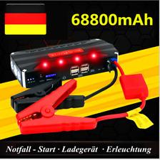 68800mAh Power Bank Auto Starthilfe Jump Starter Akku Notfall Booster Ladegerät#