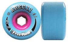 ABEC11 Stoneground Freeride 70mm 84a azul - rosa Longboard Ruedas