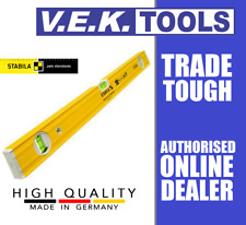 STABILA TRADIES 3VIAL SPIRIT LEVEL MADE IN GERMANY-120CM 1200MM-80A-2/120-SOLA