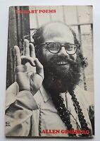 Rare vintage 1967 1st edition 2nd imp TV BABY POEMS ALLEN GINSBERG Cape Goliard