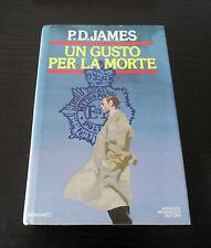 Un gusto per la morte - P.D. James - Prima Edizione Omnibus Mondadori -