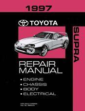 1997 Toyota Supra Shop Service Repair Manual Book Engine Drivetrain OEM