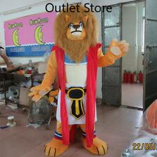 Halloween Cartoon Lion Fur Brown Cosplay Mascot Costume Party Xmas Carnival