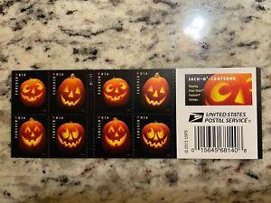 5137-5140 Jack O Lanterns Booklet of 20 Forever Stamps Halloween Pumpkin