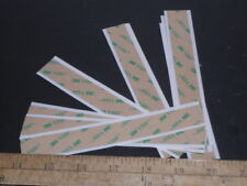 "3M VHB F9473PC ADHESIVE TRANSFER DOUBLE STICK TAPE (10) 3/4"" X 6"" STRIPS FR SHIP"