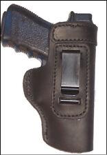 Desert Eagle 50,55, 357 Leather Gun Holster LT RH IWB Black