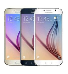 Samsung Galaxy S6 SM-G920P - 32GB - Gold Black White (Sprint) Smartphone A
