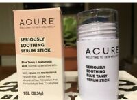 Acure Seriously Smoothing Serum Stick Blue Tansy - 1 Oz Full Size