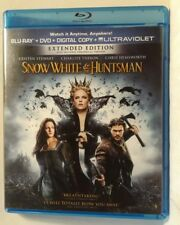 Snow White and the Huntsman (Blu-ray/DVD, 2012, 3-Disc Set)(dv2775)