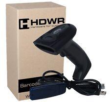 Wireless WiFi Radio 2.4 GHz Cordless Handheld Barcode Scanner Set Kit Barcode Re