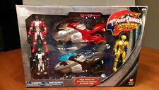 Power Rangers Operation Overdrive Disney Store Exclusive _ Mega Vehicle Set