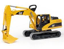 BRUDER: Escavatore CATERPILLAR - Escavatrice / Excavator [2438] CAT