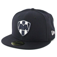 New Era 59Fifty Rayados de Monterrey Fitted Hat (Dark Navy) Mexico Soccer Cap