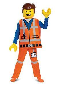 Boy's LEGO Movie 2 Emmet Deluxe Costume