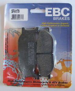 Yamaha YP400 Majesty (2004) EBC Organic FRONT Disc Brake Pads (SFA179) (1 Set)