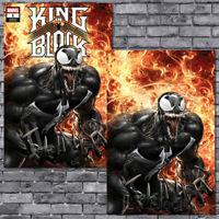 🔥 King In Black #1 Clayton Crain Trade + Virgin Variant Set Venom Knull NM!