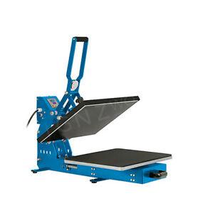 B Grade SEMI-AUTO Heat Press HIGH PRESSURE Machine HP3804C-2 38x38 T-shirt Print