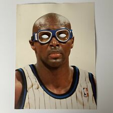 """Vintage ORLANDO MAGIC HORACE GRANT IT'S THE GOGGLES! 1990's GAME SIGN 11"""" x 17"""""""