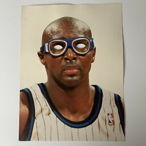 "Vintage ORLANDO MAGIC HORACE GRANT IT'S THE GOGGLES! 1990's GAME SIGN 11"" x 17"""