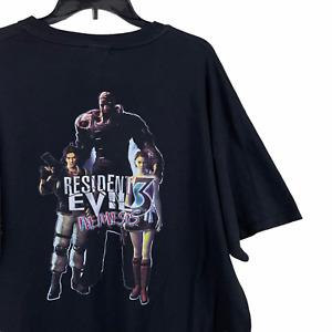 Vintage Resident Evil 3 Nemesis Shirt Deadstock XL Capcom Promo Video Game