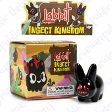 Kidrobot Kozik Labbit Insect Kingdom Vinyl Mini Series Figure Black Widow Spider