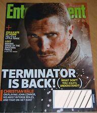Entertainment Weekly Terminator Christian BALE May 22 2009 Kristin Cavallari