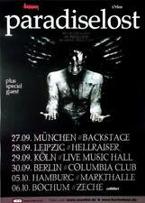 Paradise Lost - 2007-TOUR MANIFESTO-Concert-in Requiem-TOUR Poster