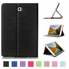 Custodia per Samsung Galaxy Tab 8.0 s2 sm-t713 sm-t719 Book Cover Astuccio Case Nera