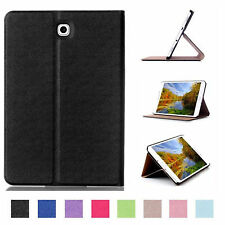 Funda para Samsung Galaxy Tab 8.0 s2 sm-t713 sm-t719 Book, estuche, funda negra