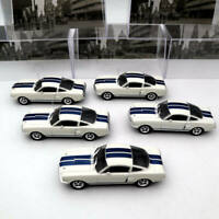 5PCS OF 1:43 IXO Ford Mustang Shelby GT 350H 1965 Diecast Toys Car Models Altaya