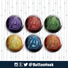 Avengers Infinity War Stones - Pin Badges / Magnets   Superheroes