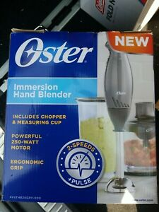 Oster 2 Speed Immersion Hand Held Blender Includes Chopper