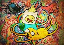 ADVENTURE TIME A4 POSTER WALL ART