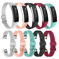 Soft Silicone Casual Watch Band Bracelet Wrist Strap for for Fitbit Alta HR