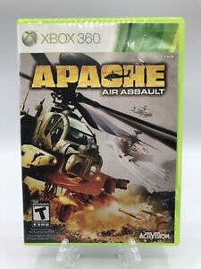 Apache Air Assault Game For Microsoft Xbox 360 Tested and Working Disc And Case
