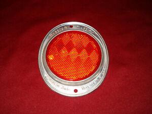 VINTAGE RED REFLECTORS TRACTOR TRAILER / RV