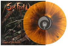 SIX FEET UNDER - CRYPT OF THE DEVIL - LTD. ORANGE BROWN VINYL LP, TO 300 COPIES