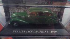 """MUERE EL MOLDE """" BERLIET 11 CV DELFINA - 1939"""" AUTO FRANCÉS ESCALA 1/43"""
