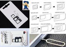 Nano sim set micro SIM pin aguja tarjetas adaptador para huawei honor Nexus mate Nova