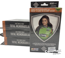 2012 Press Pass Total Memorabilia Nascar Hanger Box (4 box lot!)